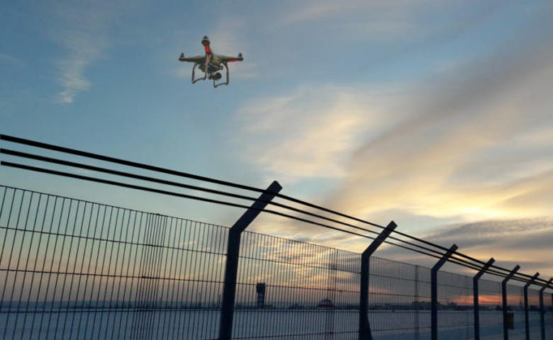 Drones for border monitoring