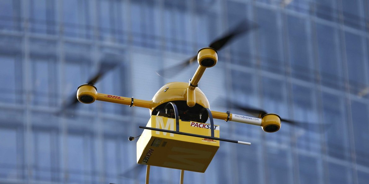 Drone delivery services firm