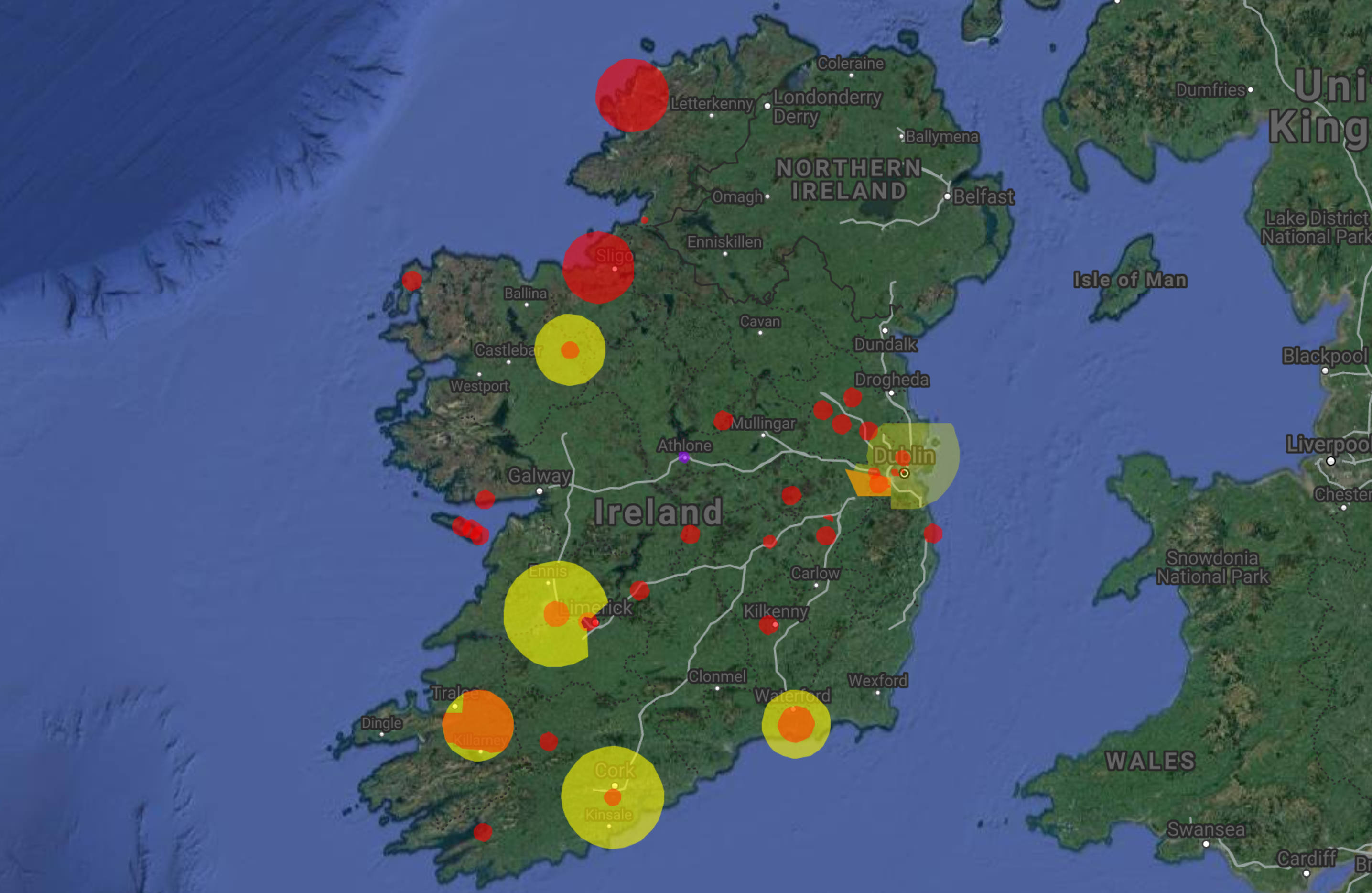airspace in ireland